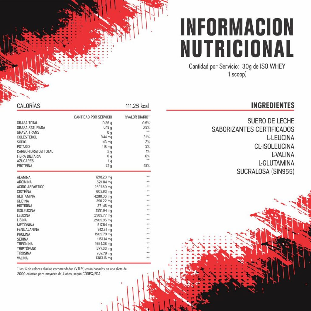 ISO WHEY 90 INF NUT